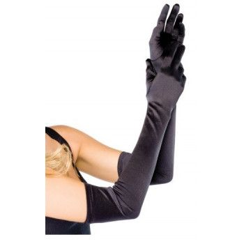 Rękawiczki retro czarne
