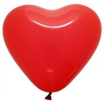 Balony serce 100 szt