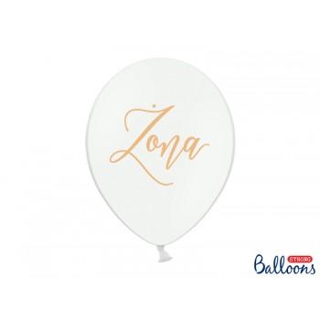 Balony 30cm Żona 6szt