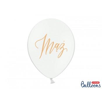 Balony 30cm Mąż - 6szt