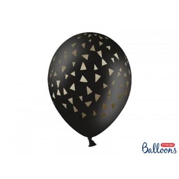Balony 30cm Trójkąty - 6szt