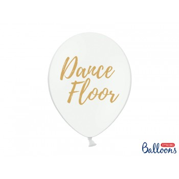 Balony 30cm Dance Floor - 6szt