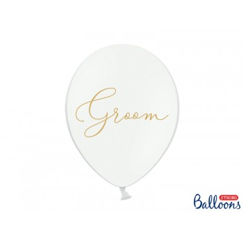 Balony 30cm Groom - 6szt