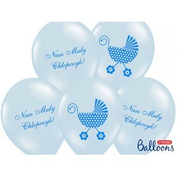 Balony 30cm Nasz Mały Chłopczyk - 6szt