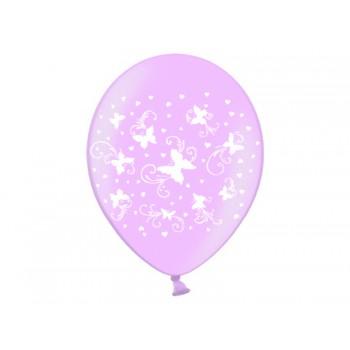 Balony 30cm Motylki - 6szt