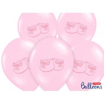 Balony 30cm Bucik - 6szt