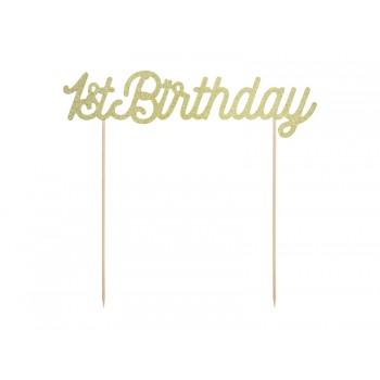 Topper na tort 1st Birthday