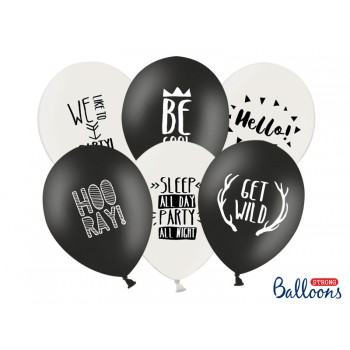 Balony 30cm Party - 6szt
