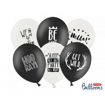 Balony 30cm Party - 6szt