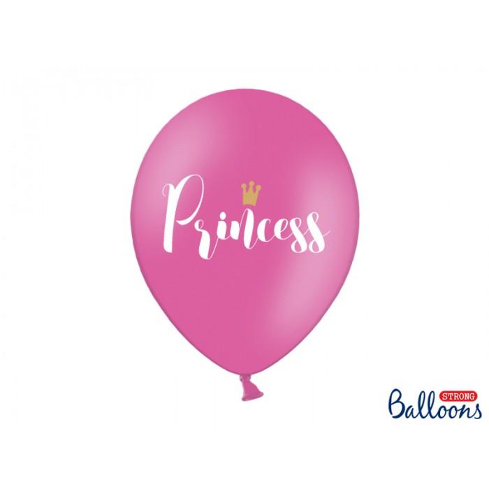 Balony 30cm Princess - 6szt