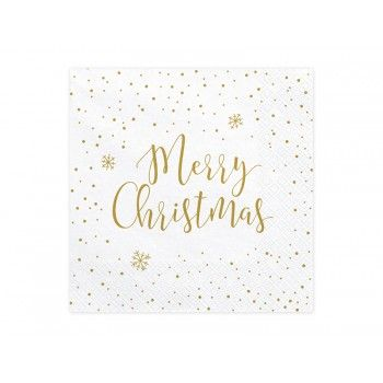 Serwetki Merry Christmas 33x33cm
