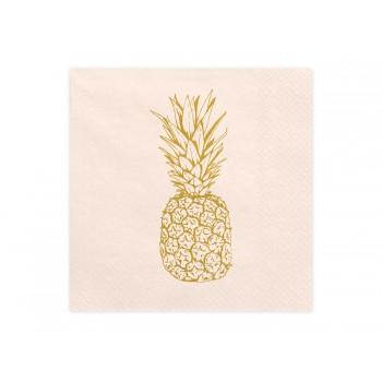 Serwetki Aloha - Ananas 33x33cm