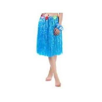 Spódnica hawajska 60cm NIEBIESKA