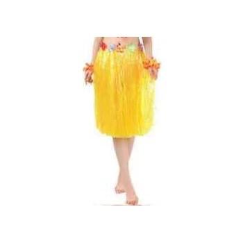Spódnica hawajska 60cm ŻÓŁTA