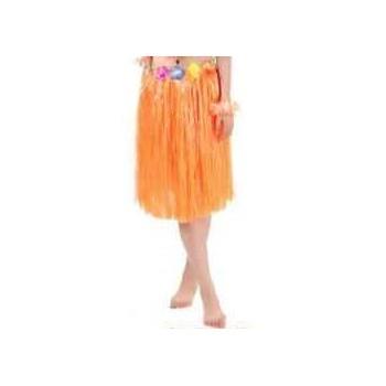 Spódnica hawajska POMARAŃCZOWA 60cm
