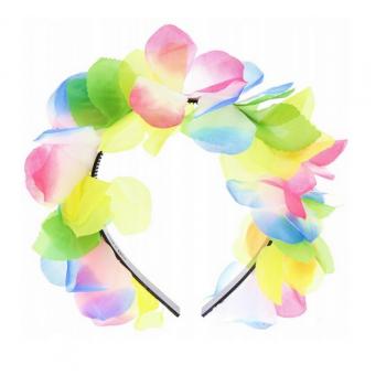 Opaska hawajska kwiaty do włosów