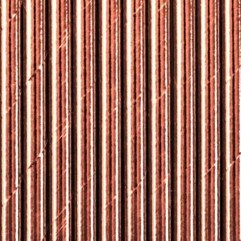 Słomki papierowe Metaliczne 10szt - 19,5cm