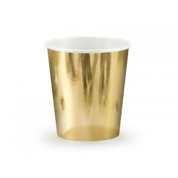 Kubeczki złoty 6szt - 180ml