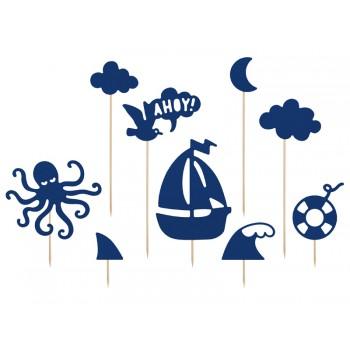Toppery Ahoy 9szt - 9,5-22,5 cm