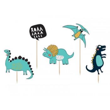 Toppery Dinozaury 5szt - 10,5-20cm