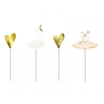 Toppery Lovely Swan 4szt - 28,5cm