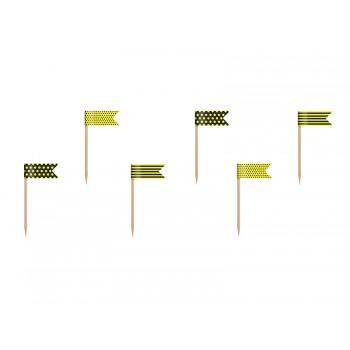 Flagietki Pszczółka 6szt - 7cm