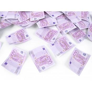 Tuba z banknotami 500 euro - 60cm