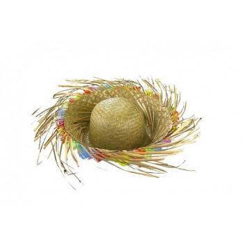 Kapelusz Hawajski słomkowy