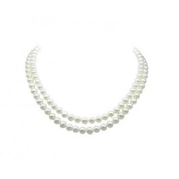 Naszyjnik perłowy Retro