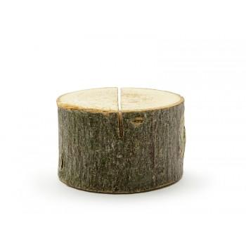 Drewniane podstawki pod wizytówki -10szt