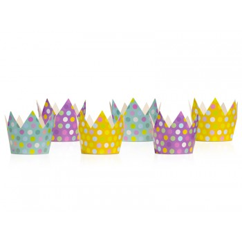 Korony Party 6szt - 10cm