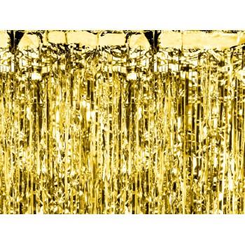Kurtyna foliowa metalizowana złota 100x200cm