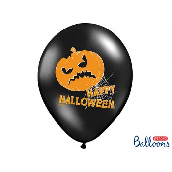 Balony Dynie 6szt Halloween 30cm