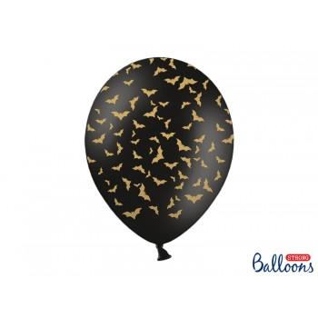 Balony 6szt Nietoperze