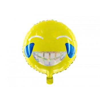 Balon foliowy Emotikon - Uśmiech 45cm