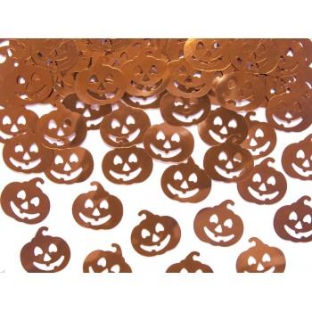 Konfetti metalizowane Dynie 2x2cm, 15g