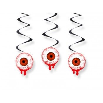 Świderki Krwawe oczy - 3szt