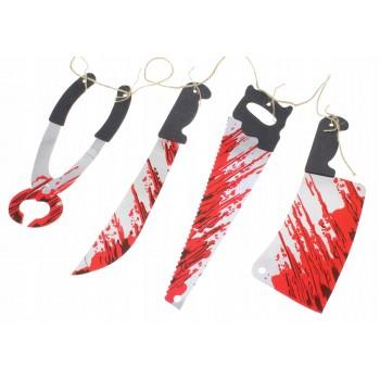 Girlanda krwawe noże