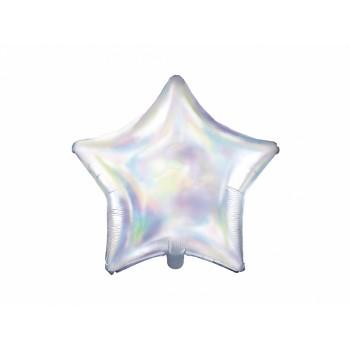 Balon foliowy opalizujący Gwiazdka 48cm