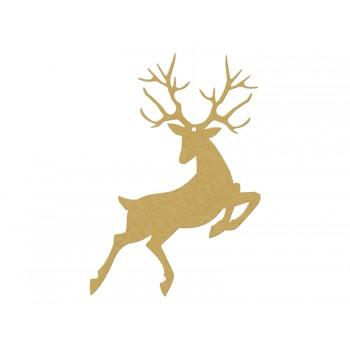 Zawieszki Rudolf 10szt złoty