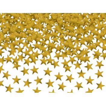 Konfetti Gwiazdki, złote 10mm 30g