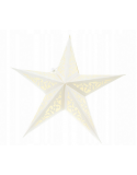 Witraż 40cm - świecący lampion Gwiazda
