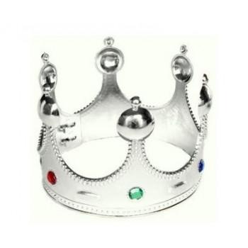 Korona króla plastikowa