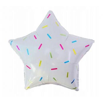 Balon foliowy - Sweet Star 18cali