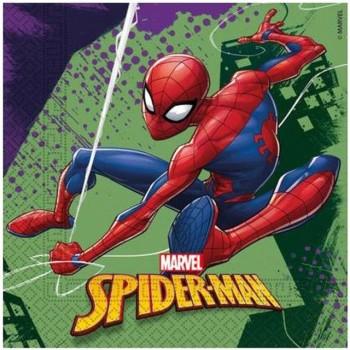 Serwetki Spider Man - papierowe 33x33