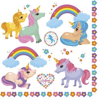 Serwetki Kucyki Pony - papierowe 33x33