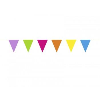 Girlanda papierowa kolorowa 1,15m
