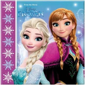 Serwetki Frozen Kraina Lodu - papierowe 33x33