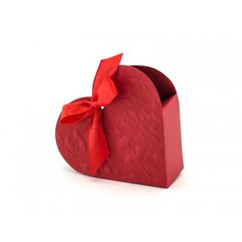 Pudełeczka Serduszka 10szt - czerwone