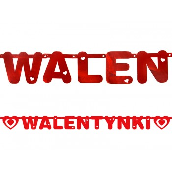 Baner Walentynki 12 x 160cm